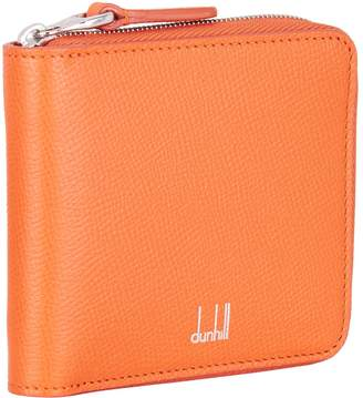 Dunhill Saffiano Zip Around Wallet