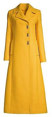 Tory Burch Women's Wool-Blend Swing Coat