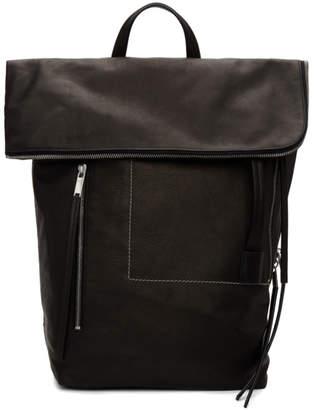 Rick Owens Black Medium Backpack