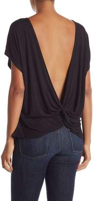 Bobeau Twist Back Tee