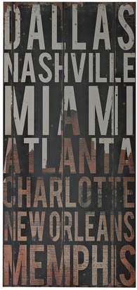 Sterling ''American Cities III'' Wall Art