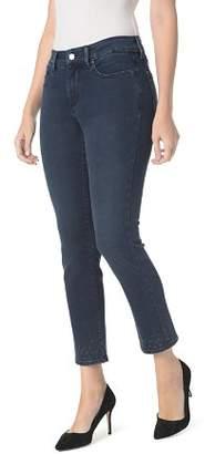 NYDJ Sheri Embroidered Slim Ankle Jeans in Varick