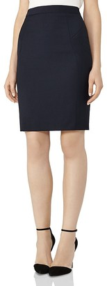 REISS Indi Textured Skirt $220 thestylecure.com