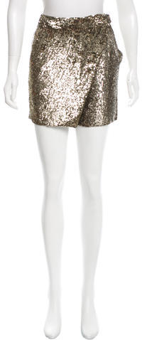 3.1 Phillip Lim 3.1 Phillip Lim Sequin-Embellished High-Rise Shorts w/ Tags