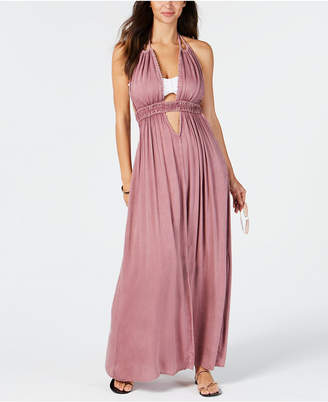 Raviya Halter-Top Maxi Dress Cover-Up Women's Swimsuit