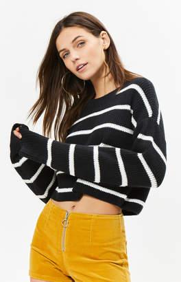 La Hearts Chunky Stripe Sweater