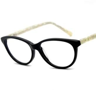 9169e344bd Cat Eye Carmim Lady s Acetate Glasses Clear Lens Eyewear Frame 51BG24012