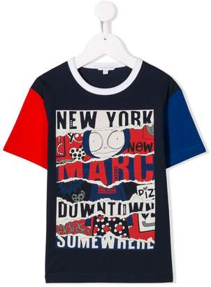Little Marc Jacobs Mr Marc print T-shirt