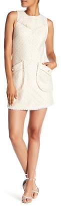 Laundry by Shelli Segal Sleeveless Boucle Shift Dress
