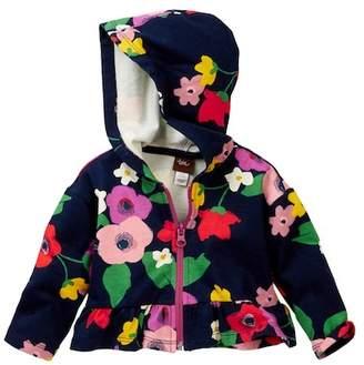 Tea Collection Scottie Garden Zip Hoodie (Baby Girls)
