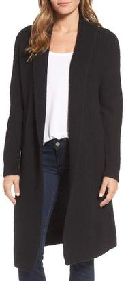 Halogen Textured Open Front Cardigan