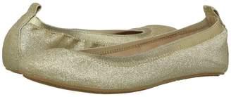 Yosi Samra Kids Miss Samara Glitter Ballet Flat Girls Shoes