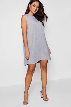 boohoo Drop Armhole T-Shirt Dress