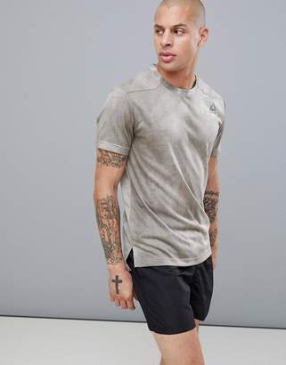 Reebok Combat Dye T-Shirt In Sand D95979
