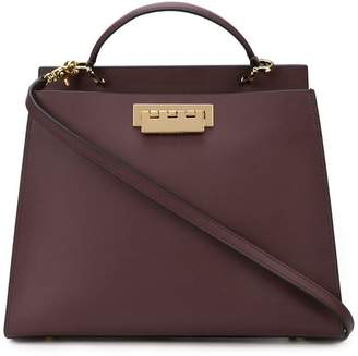 Zac Posen Earthette Double Compartment Satchel