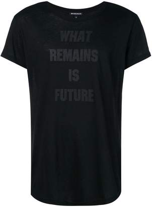 Ann Demeulemeester What Remains is Future T-shirt