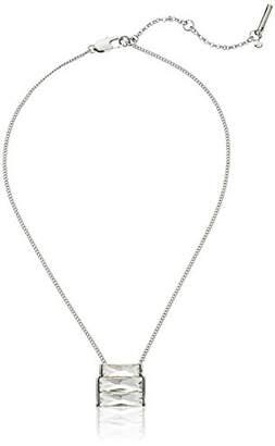 "Kenneth Cole New York Sparkled Baguette"" Baguette Stone Geometric Pendant Necklace"