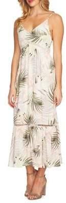 CeCe Soft Palms Maxi Dress