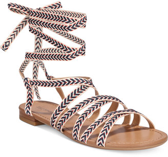 Call It Spring Afauma Lace-Up Sandals Women's Shoes $39.50 thestylecure.com