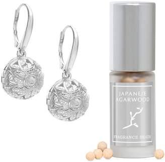 Lisa Hoffman Sterling Silver Flora Fragrance Earrings