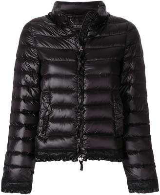 Twin-Set slim-fit puffer jacket