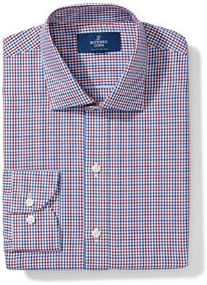 Buttoned Down Amazon Brand Men's Slim Fit Gingham Dress Shirt