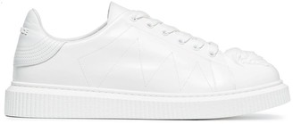 Versace white Medusa leather sneakers