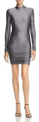 Tiger Mist Havanna Shirred Dress