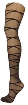 Versace Crisscross Tights