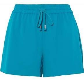 Alice + Olivia Gathered Crepe Shorts