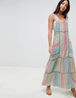 Free People Anika Tiered Mazi Dress