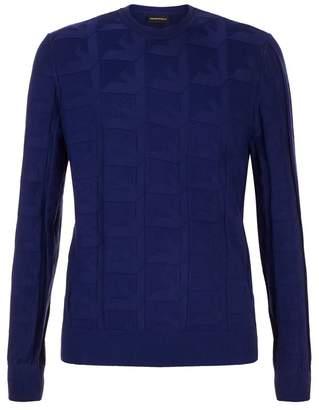 Emporio Armani Tonal Logo Sweater