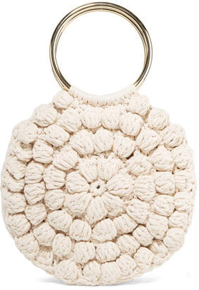 Ulla Johnson Lia Crocheted Cotton Tote