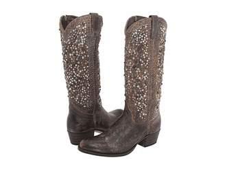 1d66a676de1e Frye Deborah Studded Boots - ShopStyle