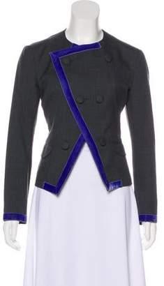 Y-3 Wool Velvet Trimmed Blazer