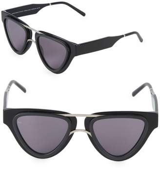 Smoke X Mirrors Sodapop V 49MM Triangular Sunglasses