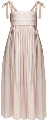 THREE GRACES LONDON Hortense sleeveless cotton maxi nightdress
