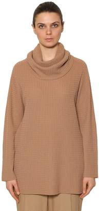 Marina Rinaldi Cashmere Sweater W/ Detachable Collar