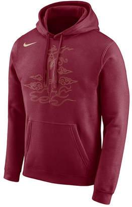 Nike Men Houston Rockets City Club Fleece Hoodie