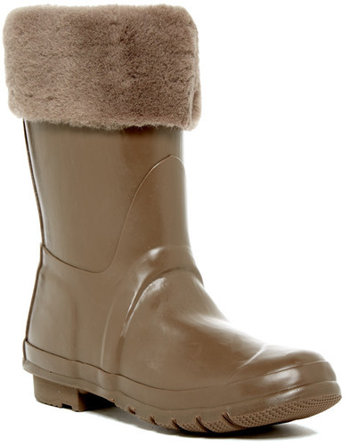 Australia Luxe Collective Australia Luxe Collective Dukes Genuine Shearling Rain Boot