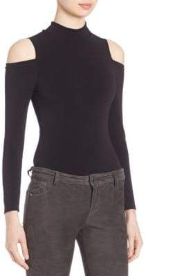 Alice + Olivia Suzi Cold-Shoulder Bodysuit