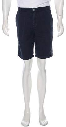 Massimo Alba Linen-Blend Shorts