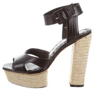 Alice + Olivia Platform Ankle Strap Sandals