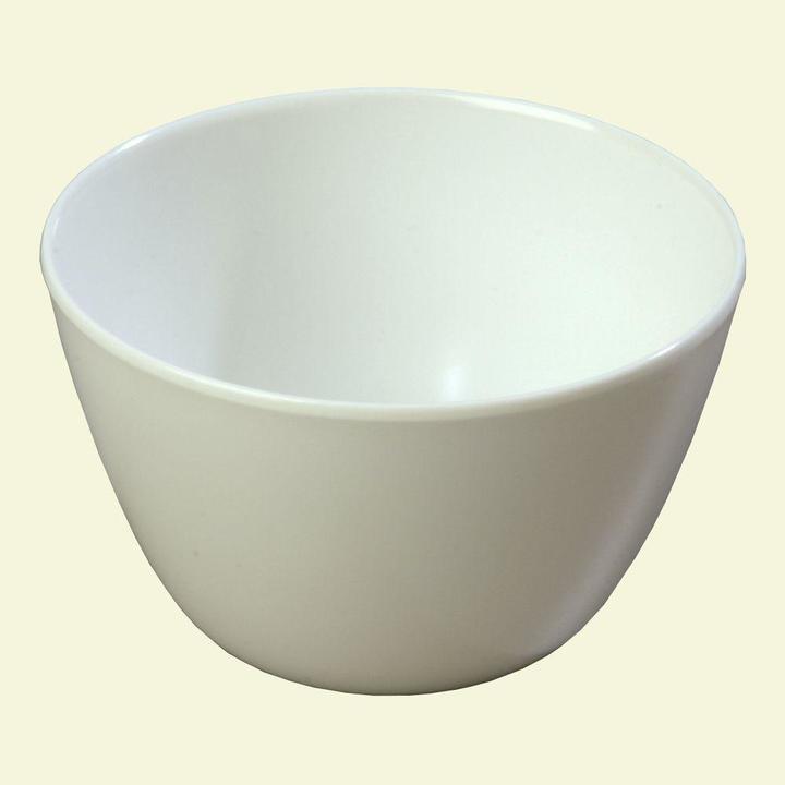 Carlisle 8 oz. Melamine Bouillon Cup in White (Case of 48)