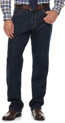 Croft & Barrow Big & Tall Classic-Fit Stretch Flannel-Lined Jeans