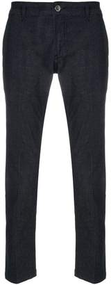 Entre Amis cropped tailored trousers