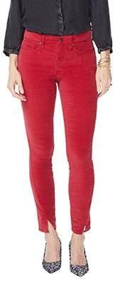 NYDJ Ami Skinny Velvet Legging with Side Seam -Gooseberry