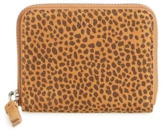 Women's Allsaints Echo Mini Zip Wallet - Brown $98 thestylecure.com