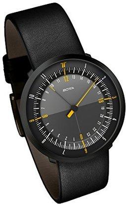 Botta-Design Duo 24 Black Edition MenÕs Watch by ゴムストラップ),259012be