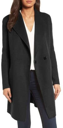 Women's Kenneth Cole New York Double Face Coat $198 thestylecure.com